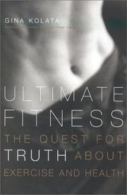 ULTIMATE FITNESS by Gina Kolata