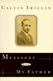 Book Cover for MESSAGES FROM MY FATHER