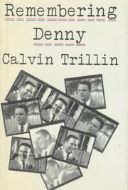 Book Cover for REMEMBERING DENNY