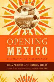 OPENING MEXICO by Julia Preston