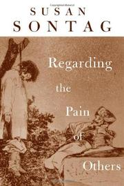 Book Cover for REGARDING THE PAIN OF OTHERS