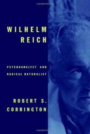 Cover art for WILHELM REICH