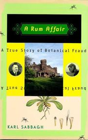 A RUM AFFAIR by Karl Sabbagh