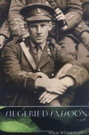 Cover art for SIEGFRIED SASSOON