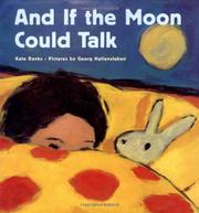 Cover art for AND IF THE MOON COULD TALK