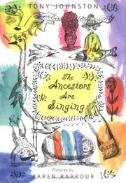 Cover art for THE ANCESTORS ARE SINGING