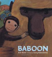 BABOON by Kate Banks