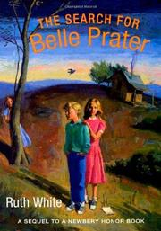 Cover art for THE SEARCH FOR BELLE PRATER