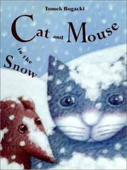 Book Cover for CAT AND MOUSE IN THE SNOW