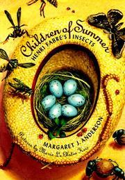 CHILDREN OF SUMMER by Margaret J. Anderson