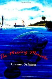 Cover art for THE MISSING MANATEE