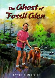 Cover art for THE GHOST OF FOSSIL GLEN
