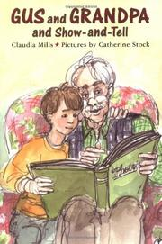 Cover art for GUS AND GRANDPA AND SHOW-AND-TELL