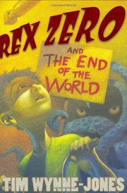 Book Cover for REX ZERO AND THE END OF THE WORLD