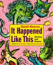 Book Cover for IT HAPPENED LIKE THIS
