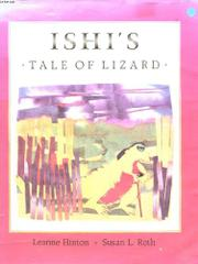 ISHI'S TALE OF LIZARD by Leanne Hinton
