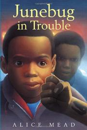 Cover art for JUNEBUG IN TROUBLE