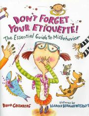 Cover art for DON'T FORGET YOUR ETIQUETTE!