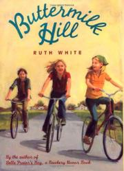 BUTTERMILK HILL by Ruth White