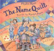 Cover art for THE NAME QUILT
