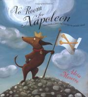 Cover art for NO ROOM FOR NAPOLEON
