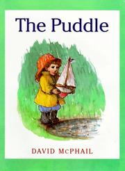 THE PUDDLE by David McPhail