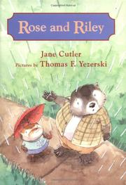 Cover art for ROSE AND RILEY
