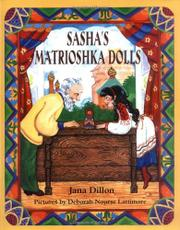 Cover art for SASHA'S MATRIOSHKA DOLLS