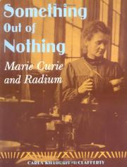 Book Cover for SOMETHING OUT OF NOTHING