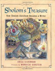 SHOLOM'S TREASURE by Erica Silverman