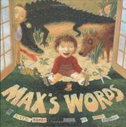 Cover art for MAX'S WORDS