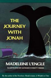 THE JOURNEY WITH JONAH by Madeleine L'Engle