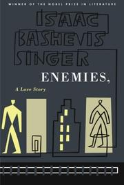 Cover art for ENEMIES, A LOVE STORY