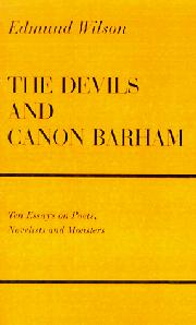 THE DEVILS & CANON BARHAM by Edmund Wilson