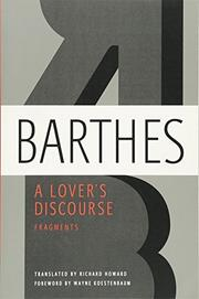 A LOVER'S DISCOURSE by Richard  Howard