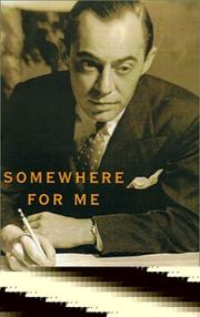 Book Cover for SOMEWHERE FOR ME