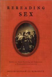 Cover art for REREADING SEX