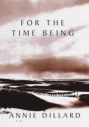 Book Cover for FOR THE TIME BEING