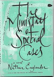 Cover art for THE MINISTRY OF SPECIAL CASES