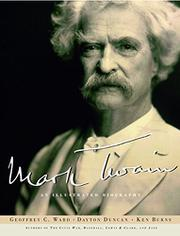 MARK TWAIN by Geoffrey C. Ward