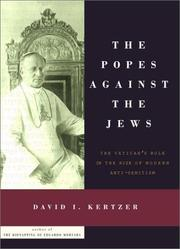 Cover art for THE POPES AGAINST THE JEWS