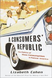 Book Cover for A CONSUMERS' REPUBLIC