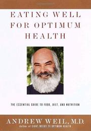Book Cover for EATING WELL FOR OPTIMUM HEALTH