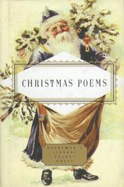 CHRISTMAS POEMS by John Hollander