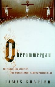 Cover art for OBERAMMERGAU