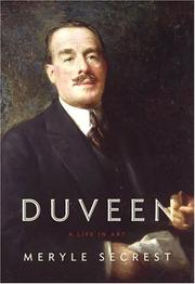 DUVEEN by Meryle Secrest