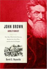 Cover art for JOHN BROWN, ABOLITIONIST
