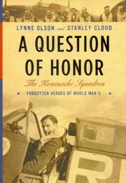 Cover art for A QUESTION OF HONOR