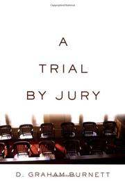 Book Cover for A TRIAL BY JURY