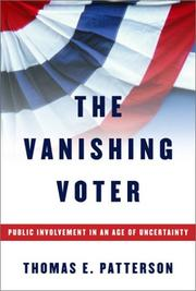 Cover art for THE VANISHING VOTER